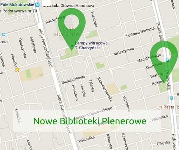 Nowe Biblioteki Plenerowe