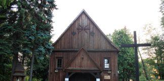 drewniany kościół Białołęka