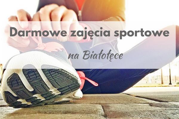 darmowe zajęcia sportowe na Białołęce