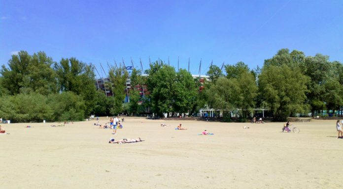 plaże warszawa