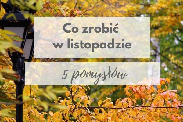 listopad w Warszawie