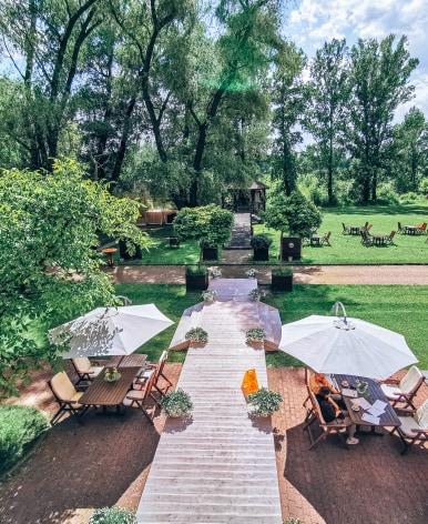 najładniejsze ogródki w Warszawie